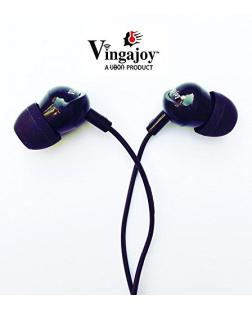 UBON VG-43 Abhston Prime OG Series Big Daddy Bass Anti Noise Universal Hands-free Earphone (Black)