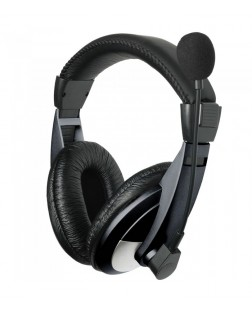 Astrum HS120 Large Stereo Headphones + Mic