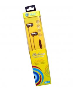 Bluei BI-20 In-Ear Earphone with Mic (Color May Vary)
