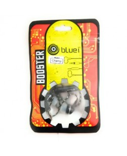 Bluei Booster Series In-Ear Earphone with Mic (Color May Vary)
