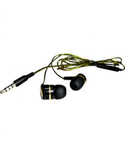 Bluei Gold Series In-Ear Earphone with Mic (Color May Vary)