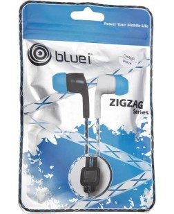 Bluei Zig-Zag Searies In-Ear Earphone with Mic