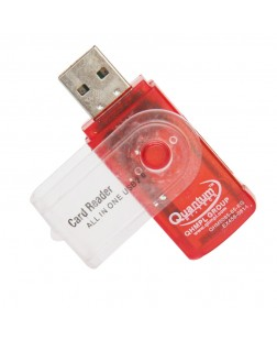 Quantum QHM5085 Memory Card Reader (Color May Vary)