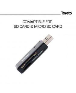 Toreto TOR-901 2-1 Card Reader Plug 2.2
