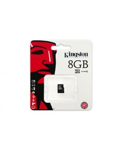 Kingston 8GB Class 4 Micro SDHC Memory Card