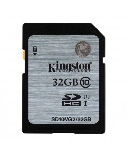 Kingston 32GB Digital SDHC Class 10 UHS-I 45R/10W Flash Memory Card