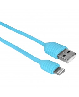 Bluei DC-03 Charging & Usb Data Cable for iphone 5 & 6 with 2.1 Am Max Output for Fast Charging (Multi Color)