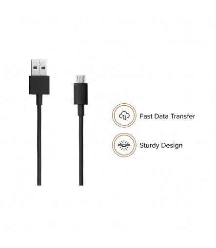 Mi 2A Fast Type-C Data Cable 120cm (Black)