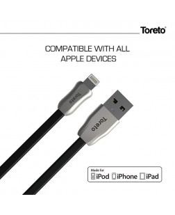 TORETO TOR-801 MFI Certified Cable for Apple Devices