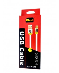 iNext IN-DTC-311 V8 USB Cable Data Sync & Charging (Color May Vary)