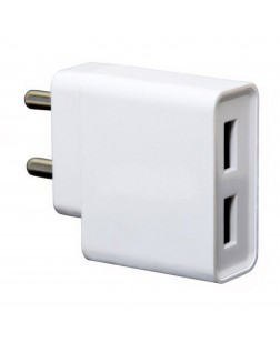 MI 2A Dual Port Mobile Charger for all MI Smartphones & More