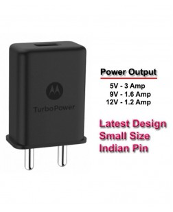 Motorola 3A TurboPower Wall Charger with Type-C Cable