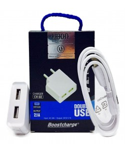 UBON Fast Charger 5V 2amp for fast Charging (Color May Vary)