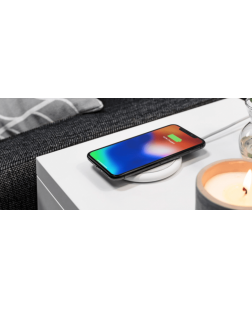 Wireless Charger for iPhone X/iPhone 8 Plus/iPhone 8/Samsung Galaxy S9+/S9 and Other Qi Enabled Devices, Black