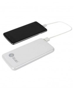 Bluei TS-05 5000 mAh Li-Polymer Power Bank with 2 USB Output (Multi Color)