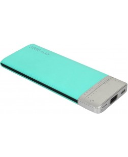 Bluei TS-06 6000 mAh Li-Polymer Power Bank with 1 USB Output (Multi Color)