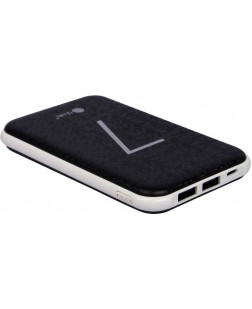 Bluei TS-07 7000 mAh Li-Polymer Power Bank with 2 USB Output (Multi Color)