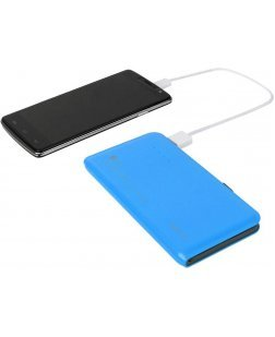 Bluei TS-09 9000 mAh Li-Polymer Power Bank with 2 USB Output (Multi Color)