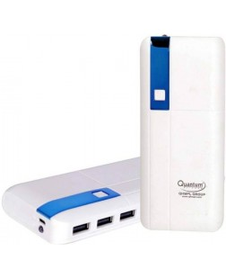Quantum QHM12500 12500 mAh Power Bank (Color May Vary) | Last Long Battery