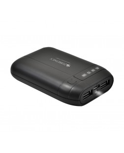 Zebronics MC6000 6000mAH Lithium Ion Power Bank (Black)