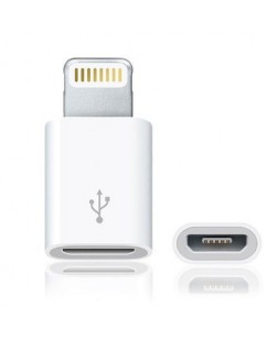 Micro USB to 8 Pin Data/Sync Charger Adaptor for all iPhones