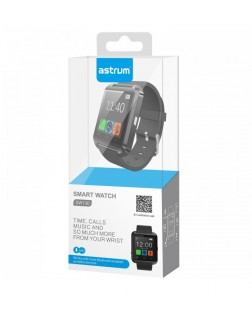 "Astrum SW130 Smart Watch 1.48"" BT Call - Black"