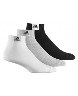 Adidas Men's Ankle Length Socks (Pack of 3)