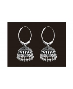 Exotical Lightweight With Pearl Beads Jhumki Earrings For Women And Girls