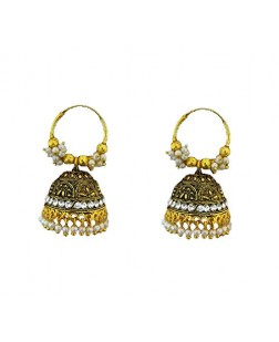Exotical Golden Colour Plated Earrings or jhumki for Women and girls