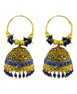 Exotical Golden Colour Plated Earrings or Jhumki for Women and Girls (Golden)