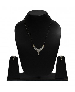 EXOTICAL American Diamond Quality Mangalsutra Pendant For Women And Girls
