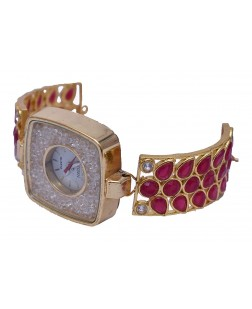 Exotical American Diamond Stylish Design Watch For Women & Girls