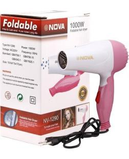 Nova NV 1290 Professional Folding Hair Dryer (1000W)
