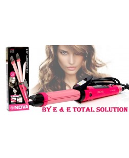 Nova NHC-1818SC 2 IN 1 HAIR BEAUTY SET