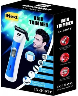 INext IN-5007T Rechargeable Cordless Trimmer (Multi Color)